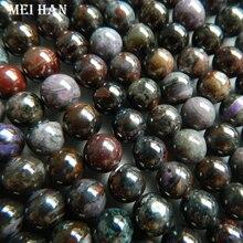 Commercio allingrosso (22 perline/set/29g) naturale Sugilite 9 millimetri + 0.2 liscio branelli allentati rotondi di pietra del commercio allingrosso per la progettazione di gioielli che fanno