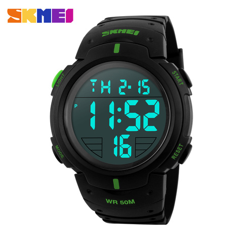 Fashion Men Sports Watches Clock Male LED Military Watch Waterproof Outdoor Dress Wristwatches Men Electronics Wristwatches Lahore