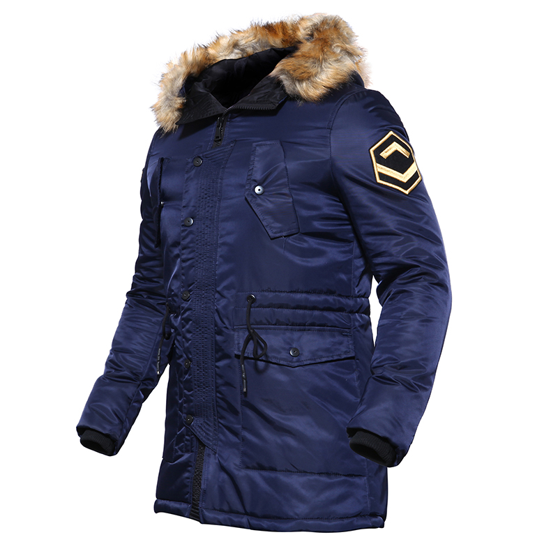 TACVASEN US Army Winter Parkas Military Tactical Jacket Men Cotton Windbreaker Male Thick Thermal Jacket Coat TD-DSPD-004