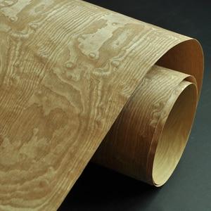 Image 5 - قشرة خشب رماد مجسمة تامو مع ظهر ورق حرفي