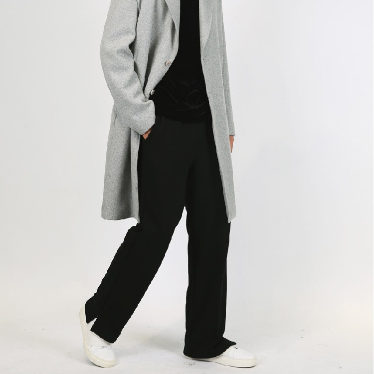 Clothing Pants Trousers Vent-Design Loose GD Men's Plus-Size Fashionable New 27-44 Thick