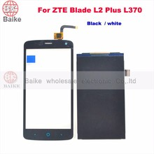 Replacement lcd screen display for ZTE Blade L2 Plus L370 Touch Screen touch glass panel Digitizer 100% Tested