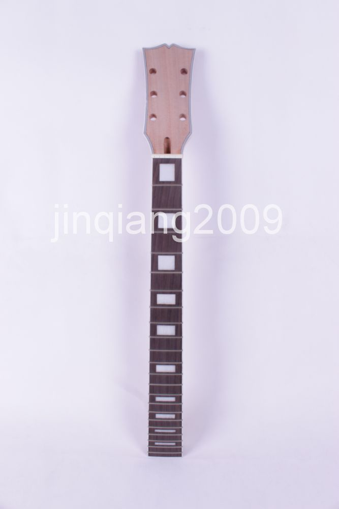 bolt on Unfinished electric guitar neck Mahogany & Rosewood FINGERBOARD #1 new bolt on unfinished electric guitar neck mahogany