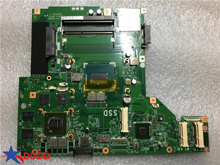 Original for MSI GE70 Laptop Motherboard WITH CPU SR1Q0 MS-1759 MS-17591 fully tested wholesale new ms17541 for msi fx720 ms 17541 latop motherboard non integrated 100