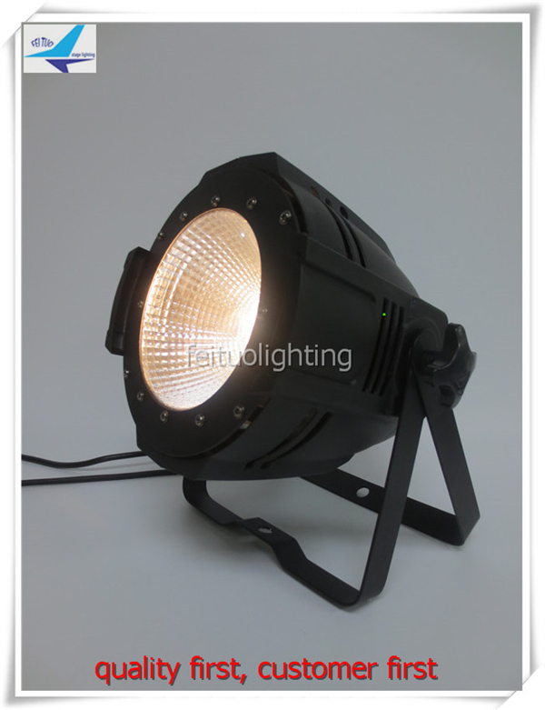T-8/lot DMX 512 Control 100w COB led par light UV/warm white/cool white/rgbw 4 in 1 par led 64 light