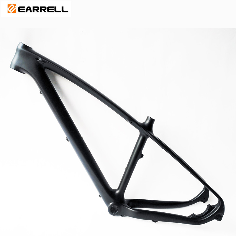 EARRELL Carbon Mtb Frame No Logo Chinese Full Carbon Racing Mountain Bike Frame Carbon Bicycle Frame BSA 2 Warranty For Bike