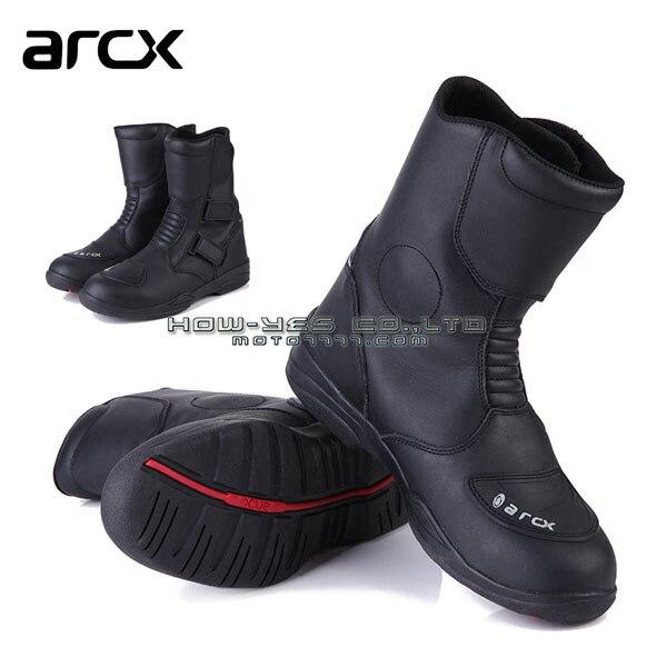 ARCX мотоцикл водонепроницаемый ботинки высокое качество кожа ветрозащитный зимние ботинки рыцарь сапоги для верховой езды обувь 39 40 41 42 43 44 45
