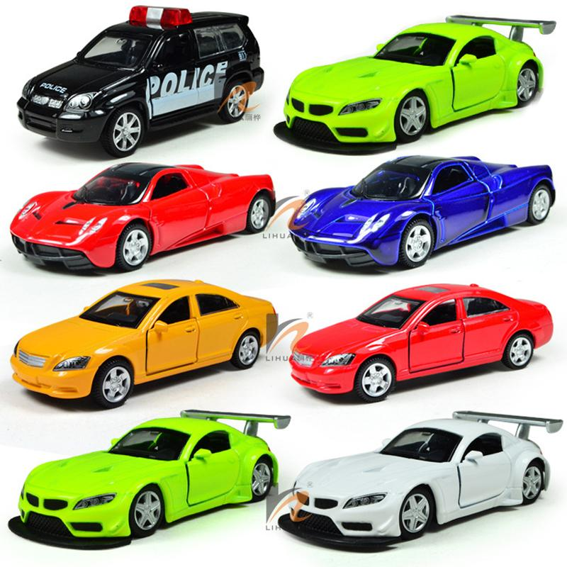 Toy Cars For Toys : Miniature toy cars alloy plastic kids toys car five loaded