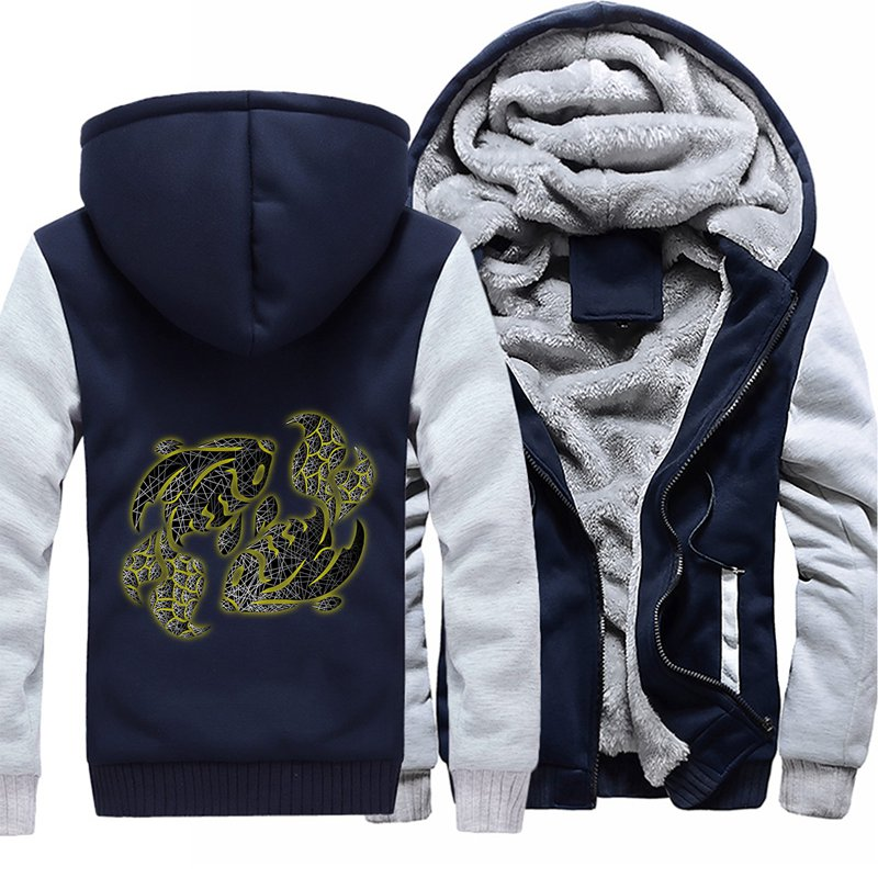 2018 Новое поступление VIP индивидуальный заказ мужские толстовки куртки 4 цвета и кофты зима плюс размеры Прямая поставка