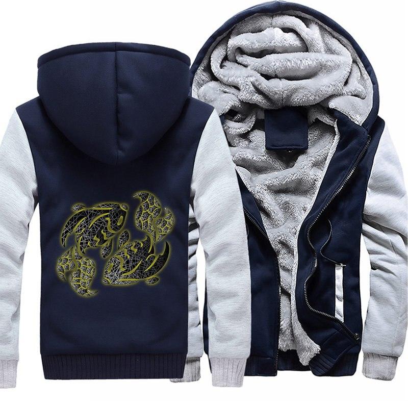 2018 Новое поступление VIP индивидуальный заказ толстовки мужские куртки 4 цвета и кофты зима плюс Размеры Прямая поставка