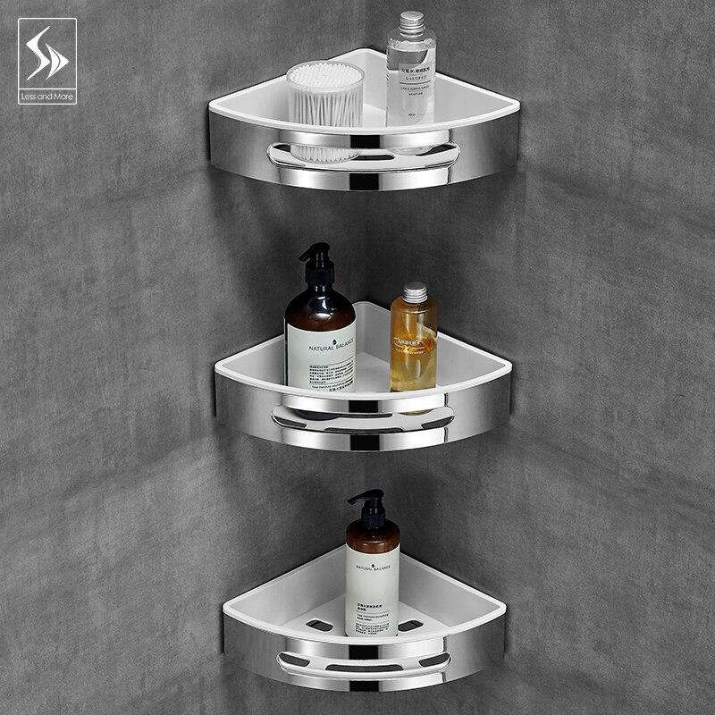 Badkamer plank wc vanity driehoek plank zuig muur type non geperforeerde muur hanger - 3