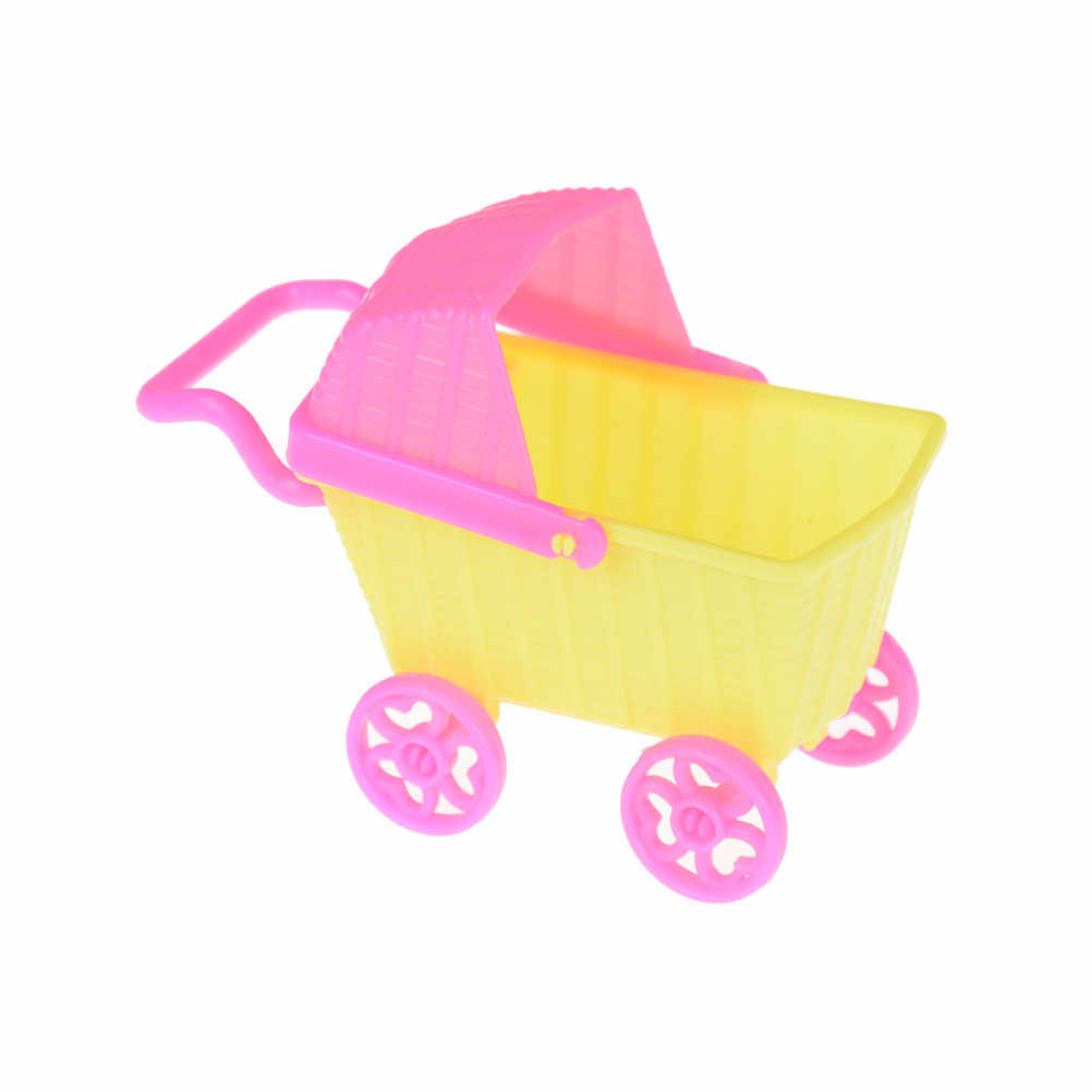 11*5*8 centímetros Mini carrinho de compras Escolher Mobiliário Boneca Bonecas Para Kelly Dolls Crianças Bebê Menina Crianças Acessórios de Casa De Bonecas De Brinquedo