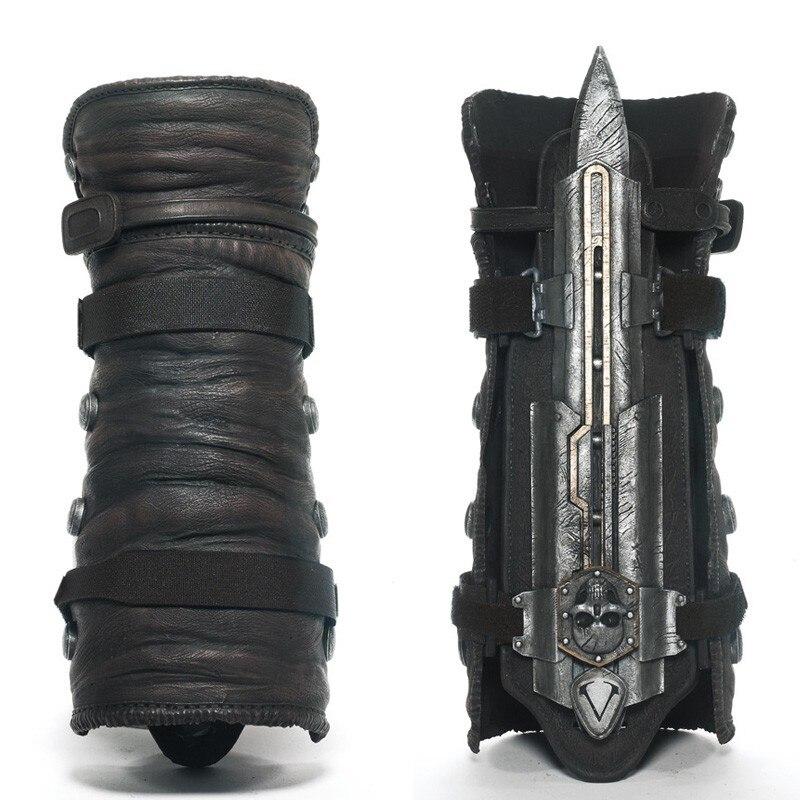 Cosplay 1:1 NECA 4 Bandera Negra cuchillas ocultas Juguetes para niños modelo de plástico de figura de acción de PVC