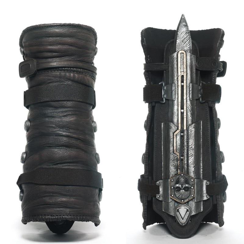 NECA 4-figuras de acción de PVC, modelo de Juguetes para niños, hoja oculta negra, disfraz de Edward Kenway, escala 1:1