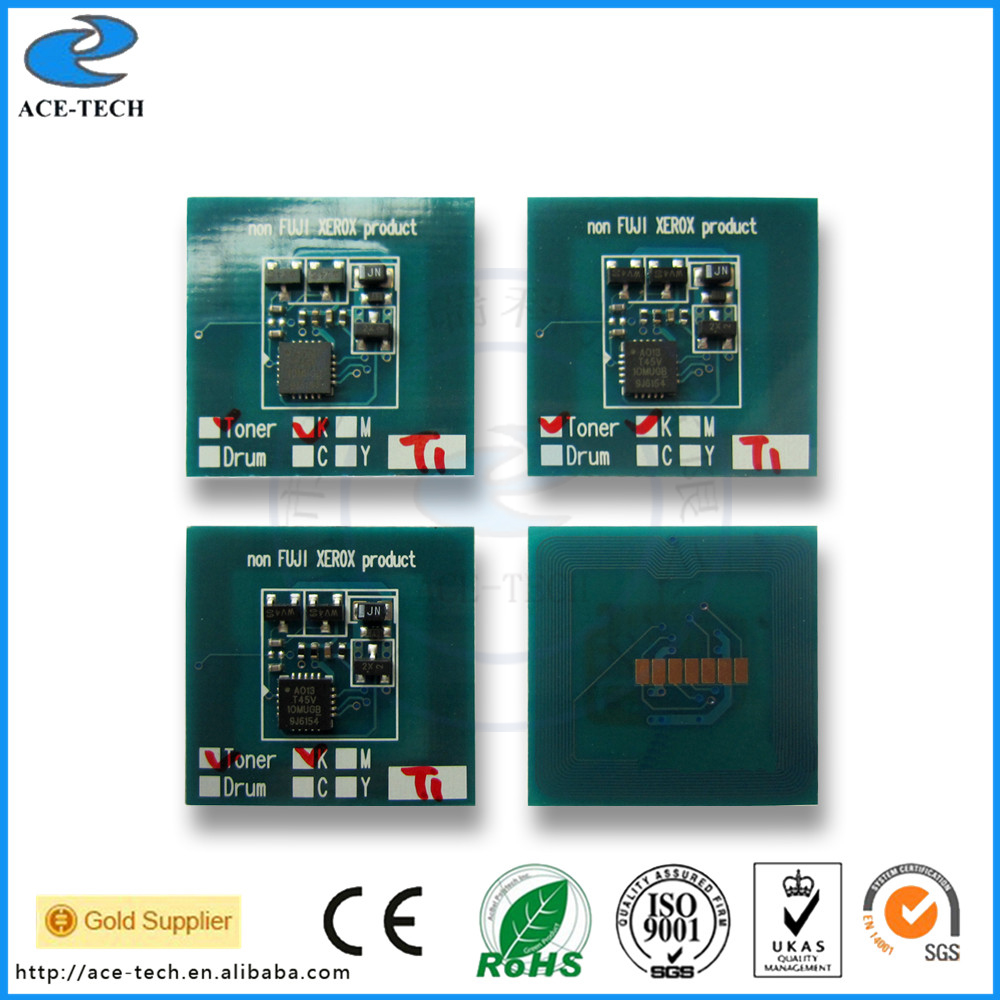 Compatible 65K CT350988 drum chip for Xerox DocuPrint-C4000d JP printer cartridge refill reset