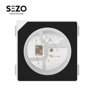 Image 1 - Sk6812 100 rgb pixel smd (similar com ws2812b), 10 peças 5050/3535 peças chip digital endereçável individualmente, cor completa, led, dc5v