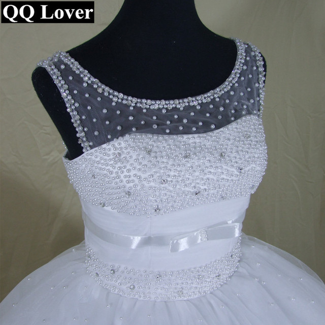 Unique African Wedding Dresses: QQ Lover 2019 Latest Unique Beaded Design Ball Gown