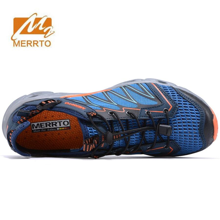 MERRTO Men Trekking Shoes Brethable Walking Mountain Hiking Shoes Summer Sandals Men Outdoor Aqua Water Shoes Sports Sneakers