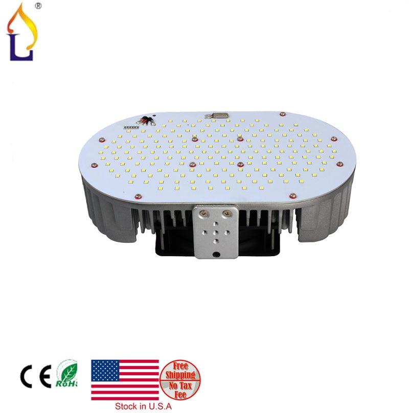 12 pcs/lot stock in USA LED Retrofit Kit street lighting 100/120/150W SMD3030 110LEDS led lighting AC85-265V LED Retrofit Kit
