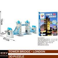 3d puzzel London tower bridge leren onderwijs speelgoed