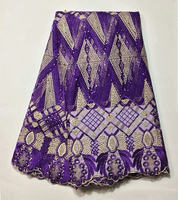 BY200 ,purple good quality African net lace fabric,free shipping embroidered French lace fabric for lady dress!