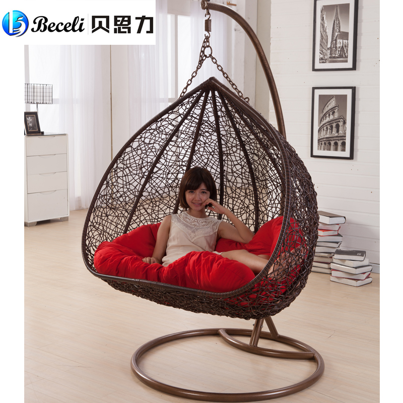 Delicieux Swing Rocking Chair Indoor Outdoor Balcony Casual Rattan Hanging Chair  Double Hanging Basket In Patio Swings From Furniture On Aliexpress.com |  Alibaba ...