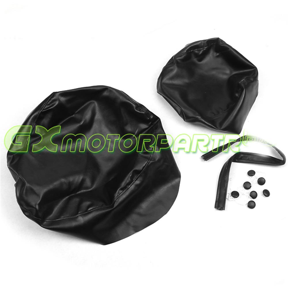 Motorcycle Accessories 1Set Motorcycl Synthetic Leather Seat Cover Cushion For YAMAHA XV250 XV400