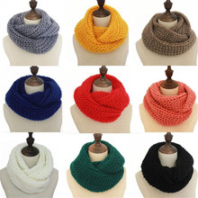2019 Female Scarves Fashion Women Scarf Solid Autumn Crochet