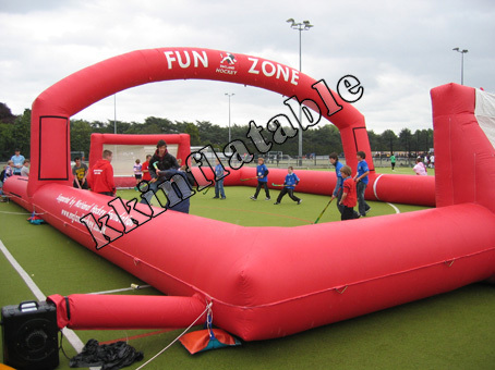 Inflatable Soccer Football Court Without Groundsheet