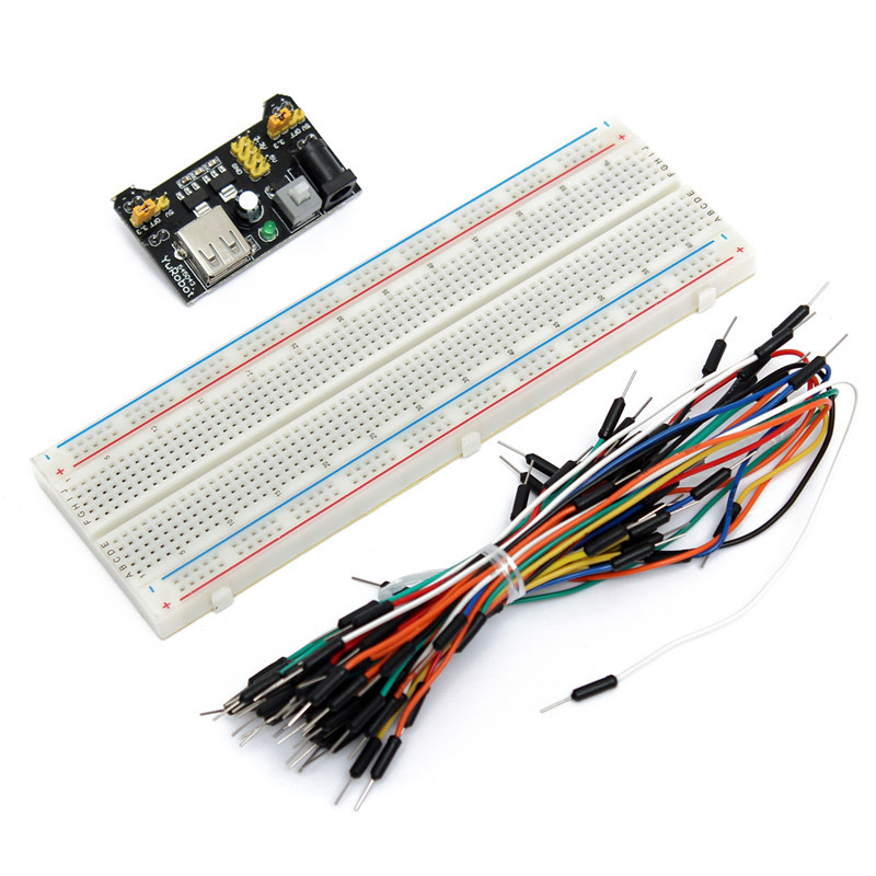 High Quality Breadboard Board 830 Point+65PCS Jumper Cable