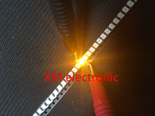 100pcs POWER TOP 1210 3528 Yellow SMD SMT PLCC 2 1500MCD Ultra Bright LED New