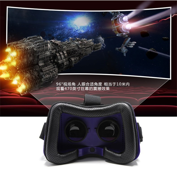 HOT!!!All in one VR headset works without smartphone:HD IPS Screen,720*1280 Resolution,Wifi and Bluetooth 4.0,Support USB 2.0 1