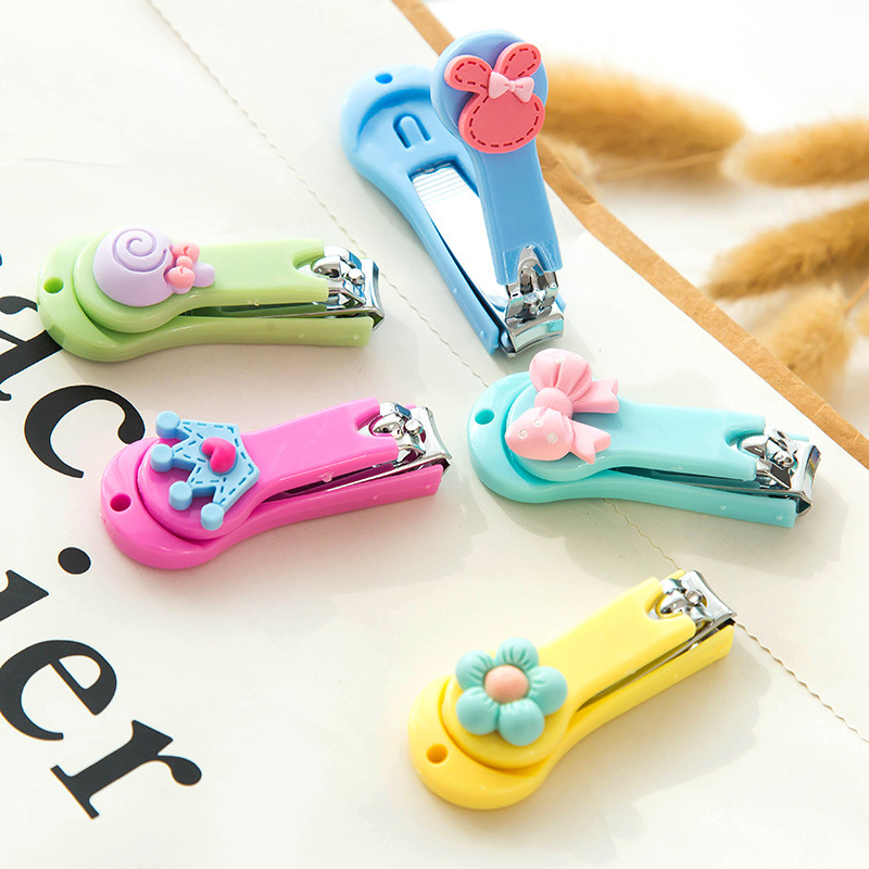 20pc/lot Sweet Candy  Rabbit Flower Crown Lollipop Colored Cute Bow Nail Cutter / Nail Clippers / Nail Scissors