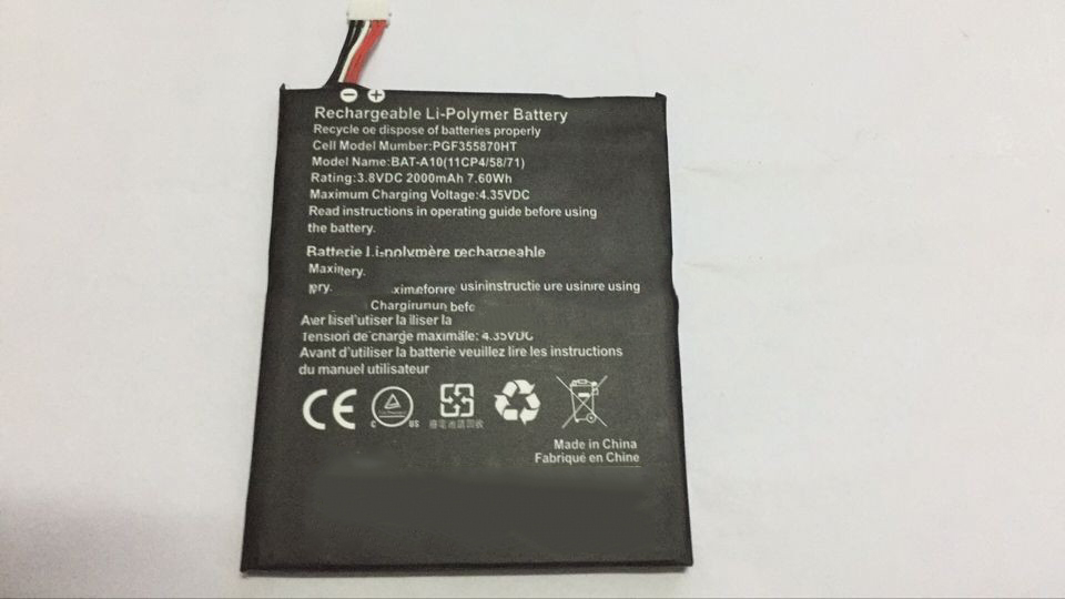 New 100 for Acer BAT A10 E380 Liquid 2000mah Li Polymer Battery and 2016 hj11 Tools