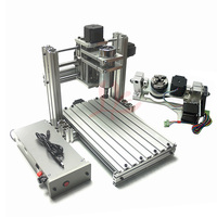 YOOCNC 400W woodworking machinery cnc machine 4020 wood router with rotary axis