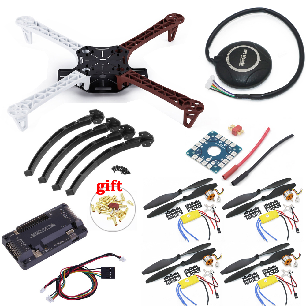 F450 Quadcopter Rack Kit Cadre APM2.8 et 7 m GPS A2212 2212 1000KV XXD 30A 1045 Accessoires Pour Quadcopter Rc
