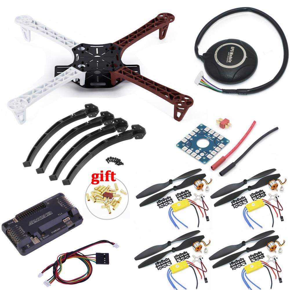 F450 quadrirotor Rack Kit Cadre APM2.8 et 7 M GPS A2212 2212 1000KV XXD 30A 1045 Accessoires Pour Rc quadrirotorF450 quadrirotor Rack Kit Cadre APM2.8 et 7 M GPS A2212 2212 1000KV XXD 30A 1045 Accessoires Pour Rc quadrirotor