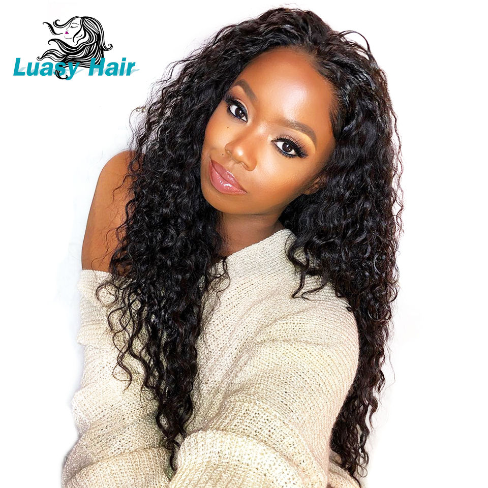 Hair Extensions & Wigs Human Hair Weaves Helpful Luasy Malaysian Curly Hair 360 Lace Frontal Closure With Baby Hair Pre Plucked 100% Remy Human Hair Closure Bleached Knots