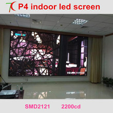 Free Installation Method of P4 full color led video wall for hotel meeting room