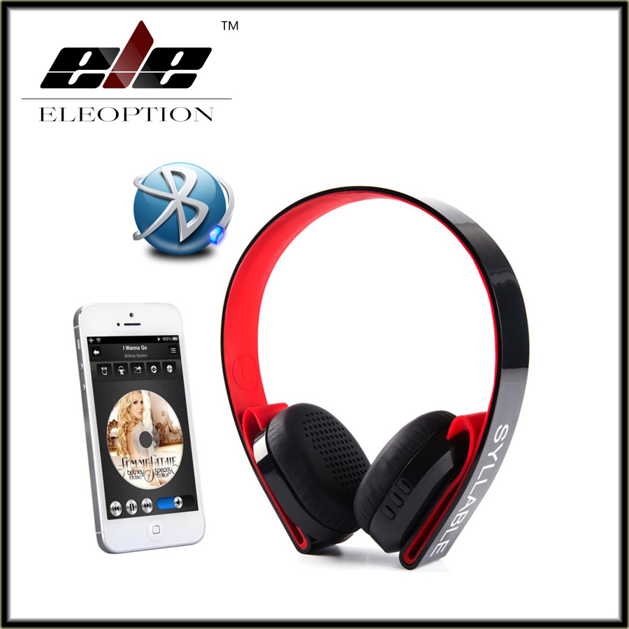Syllable G600 Wireless Stereo Bluetooth 4.0 HIFI Adjustable 3.5mm Headphone Earphone Headset for iPhone Samsung MP3/4 Laptop PC