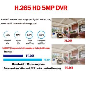 Image 2 - New スーパー 8CH 5MP AHD DVR デジタル NVR ビデオレコーダー Cctv セキュリティカメラ IP Onvif ネットワーク HD 5.0MP 警報多機能