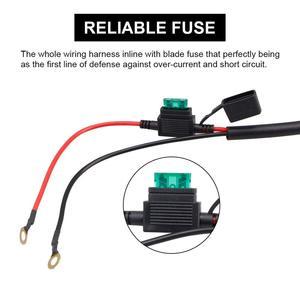 Image 5 - 12V 40A LED Light Bar MAX 400 วัตต์โหลดสวิตช์เปิด ปิด Strobe RF Wireless REMOTE ควบคุมชุดสวิทช์สำหรับชุดทำงาน