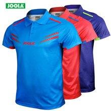 Joola, новинка, высокое качество, футболка для настольного тенниса, трикотажные футболки для тренировок, рубашки для пинг-понга, тканевая Спортивная одежда для настольного тенниса