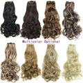 """20"""" Hairpieces 16 Clips 7pcs/set Long Wavy Synthetic Hair Extension Clip in Hair Extensions Heat Resistant Multicolor Hair piece"""