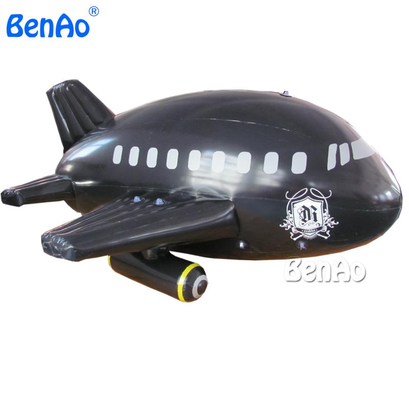 ao173 цена оптовой продажи пвх 3 м длинные НД самолет/дирижабль/дирижабль с чемпионата черный самолета