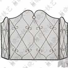 Классическая кованая железная консоль для камина каминная оболочка
