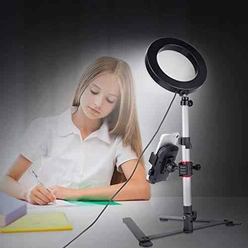 電話記入間ランプ美容リングランプネット赤女性アンカー照明写真フォトライトカメラ lamp7.9 インチ LED