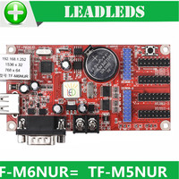 1536*32/768*64 pixels Led Display drive Board TF-M6NUR Network & USB Driver & RS232 Ports LED Control Card