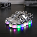 2016 European fashion LED lighted baby shoes Wing design kids shoes fashion casual baby sneakers free shipping