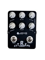 JOYO Extreme Metal Distortion Guitar Effects Pedal High Gain Heavy Metal Pedal Stompbox 3 Bands EQ